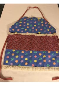 Handmade new Child's  one of a kind full front apron