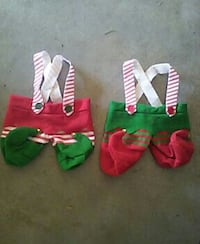 two christmas jumpsuits