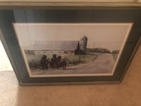 Eric Mohn Rare Signed and numbered framed Woodbridge, 22193