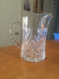 Clear Cold Cut Glass Pitcher North Las Vegas, 89030