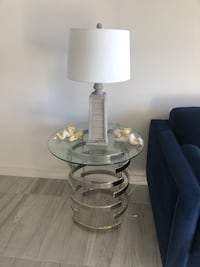 End table base