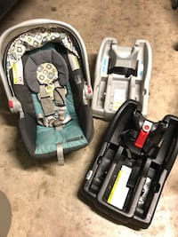 Graco Snugride 30LX car seat and bases   Hagerstown, 21742
