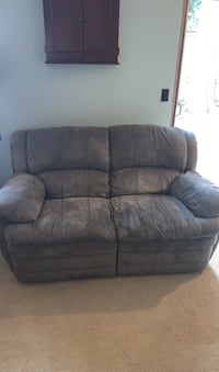 Matching couch and loveseat recliners