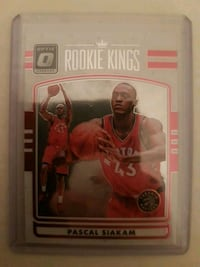 Pascal siakam rookie insert  Mississauga, L5R