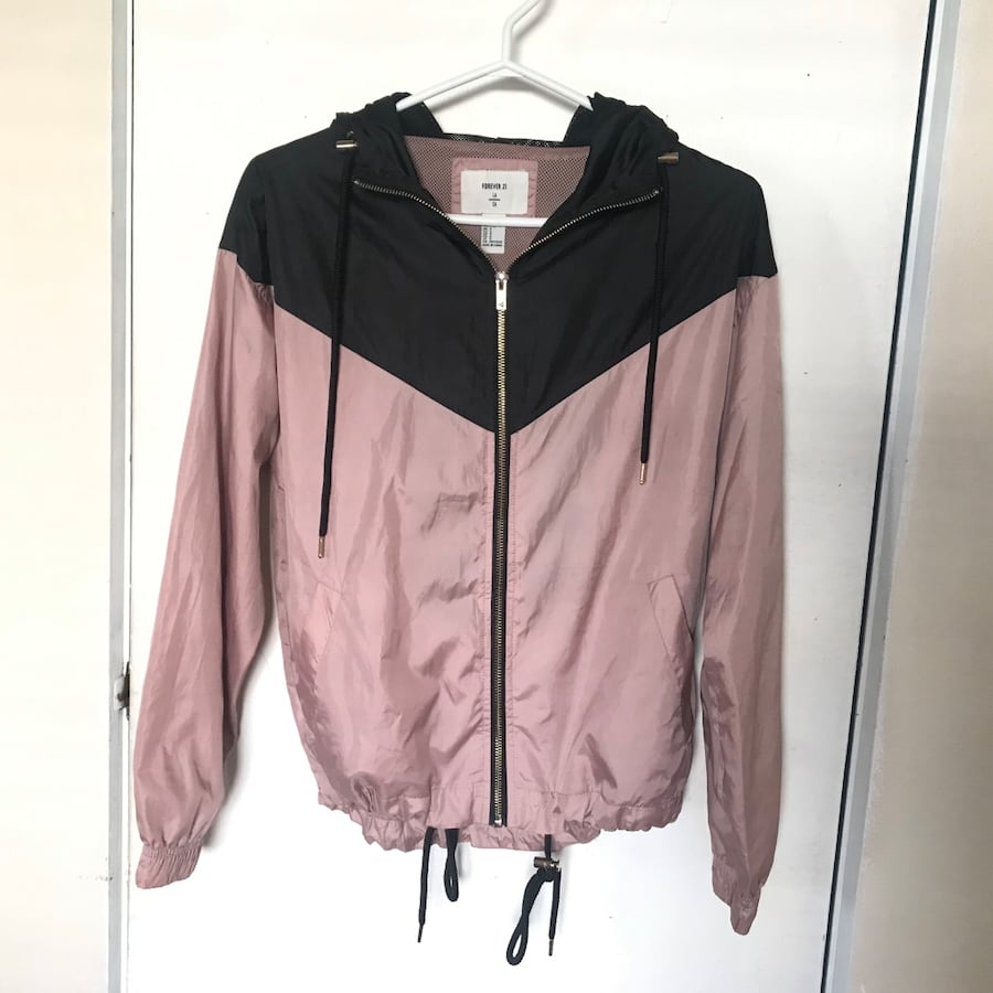 Rose Gold Windbreaker