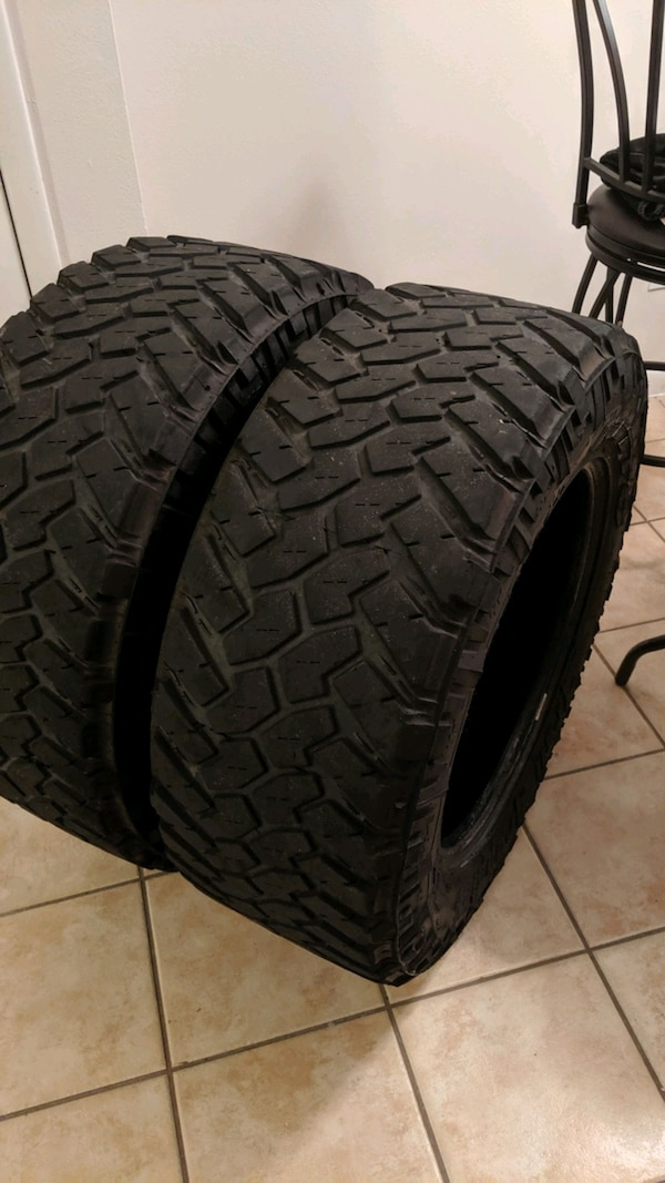 Used Mud Tires For Sale >> 2 Used Mud Tires Low Tread 35x12 5r20