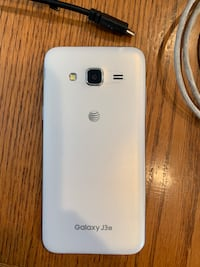 Galaxy J3 phone with charger & car charger