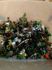 Assorted used tmnt toy lot  Front Royal, 22630