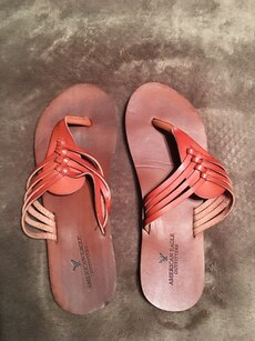 American Eagle sandals; never worn