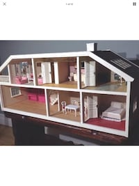Lundby RARE electric dollhouse comes with furniture good deal 605 km