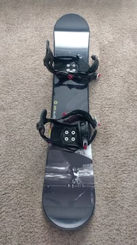 Very gently used snowboard, bindings and boots!