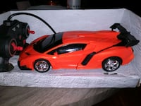 Tranforming race car with remote