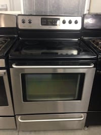 Black and gray induction range oven Raleigh, 27606