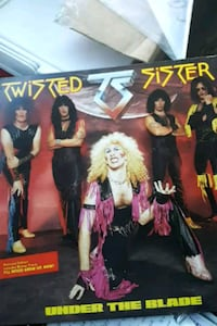 "Twisted Sister ""Under the Blade"" vinyl album La Plata, 20646"