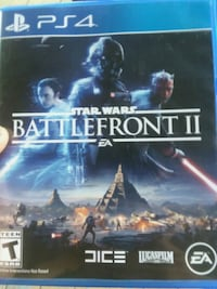 Star Wars Battlefront PS4 game case