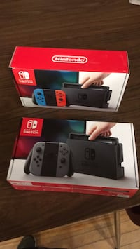 Nintendo Switch box and game case Toronto, M6S 1P4