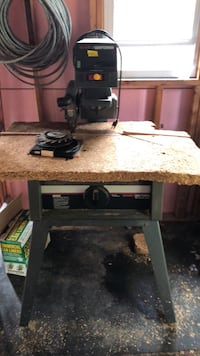 """Woodworking tools- set of 3 $250. 10"""" radial arm saw, """"12 band saw, drill press  Chesapeake, 23325"""