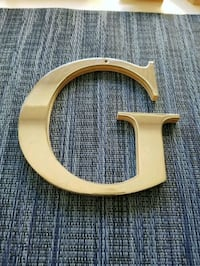 "Metal Letter ""G"" Decor Irvine, 92614"