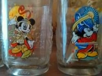 Mickey Mouse drinking glasses (year 2000)  New Port Richey, 34652