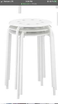 IKEA stackable stools