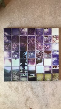Canvas tree mosaic assorted color wall art Glenwood, 21738