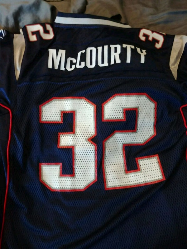 best service 5dae4 8fb7f Kids DEVIN MCCOURTY JERSEY Size LG ( 14-16)