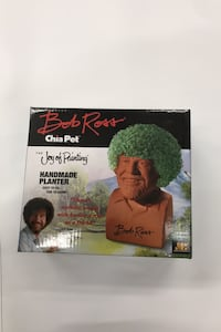 Chia Pet Bob Ross NEW
