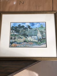 brown wooden framed painting of house Jackson, 08527