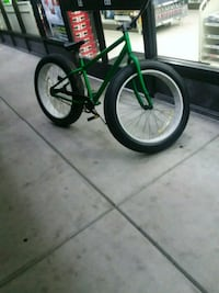 green and black bicycle with training wheels Chandler, 85225