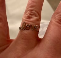 """LOVE"" Ring - sz. 9 Freehold, 07728"