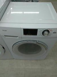 white Arcelik front-load washer Detroit, 48223