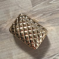Χρυσή clutch bag hm Athens, 11524