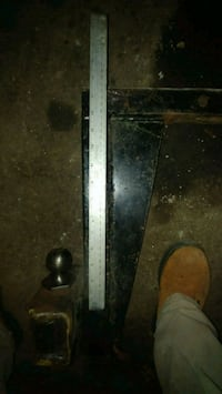 """12"""" drop hitch with 2"""" ball"""