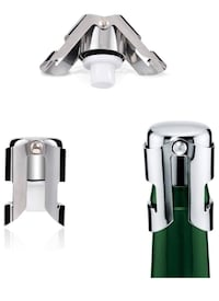 Champagne bottle stoppers