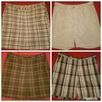 two gray and black plaid mini skirts Knoxville