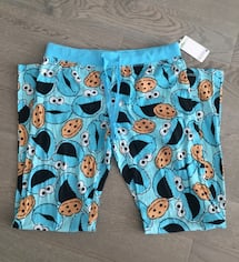 Brand new Cookie Monster Pj pants size M