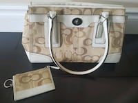 Authentic Coach Bag and Wallet Pickering