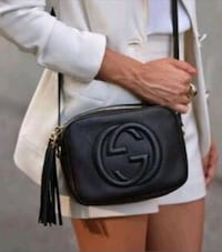 gucci soho black crossbody purse