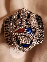 Patriots Ring Size 14 Anchorage, 99503