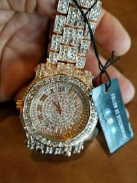 Men's Techno watches with stones  Norfolk, 23502