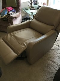 Genuine Leather Electric Chair Spring Valley