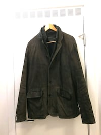 Allsaints Survey Leather Blazer XL Vancouver, V6B 6A1