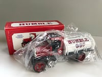 Two Antique Diecast metal trucks coin bank Mountain Lakes, 07046