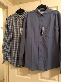 Brand new with tags men's long sleeve Nautica shirts