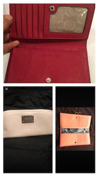 Mk and ted baker wallets