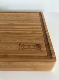 Bamboo reversible cutting board + wood oil Washington, 20005