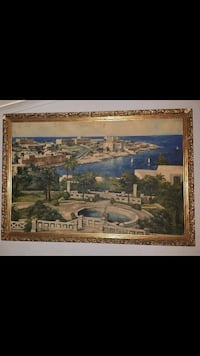 Large Painting of Greece  London, N6J 1G1