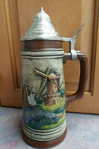 Handarbeit Holland Beer Stein 37 km