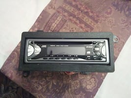 JVC CD Car Stereo Receiver with detachable face