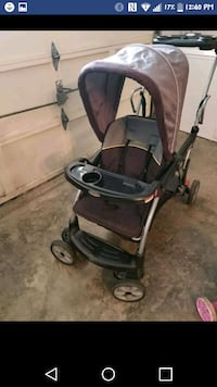 baby's black and gray stroller Shawnee, 66203